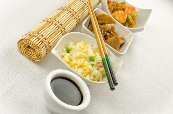 Chinese rijsttafel