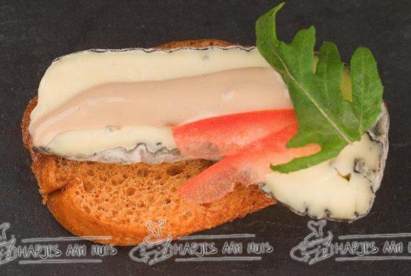 Crostini blauwe kaas