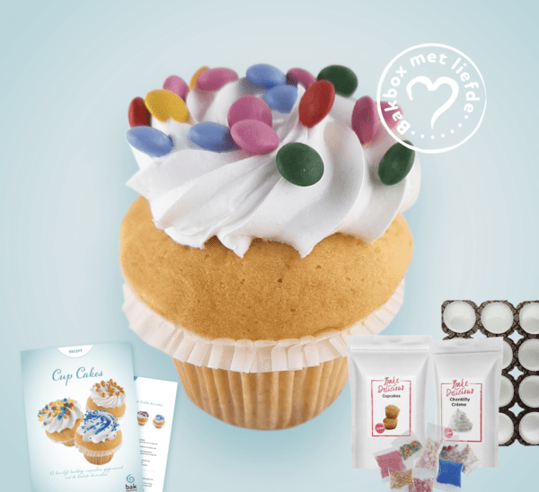 Cupcake bakpakket