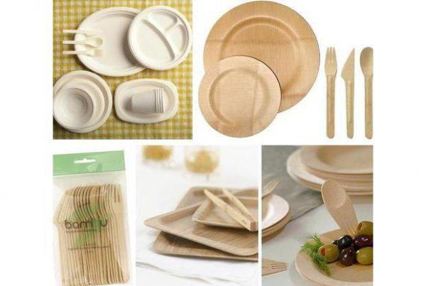 Dessertbordje met vork en lepel