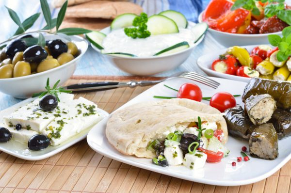 Grieks buffet Excellent
