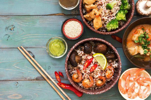 Indonesisch koud & warm buffet