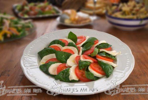 Salade caprése