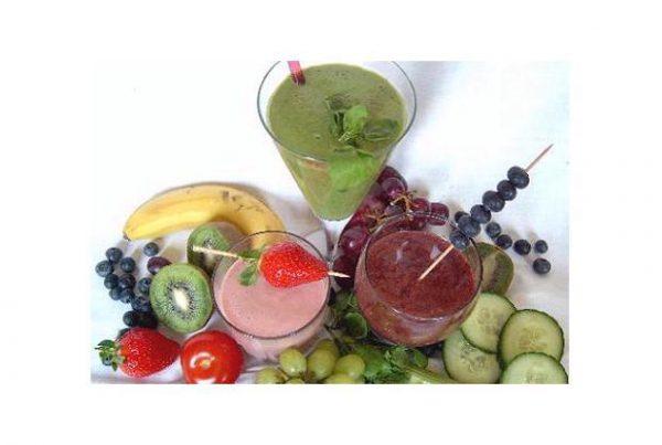 Smoothie vers fruit