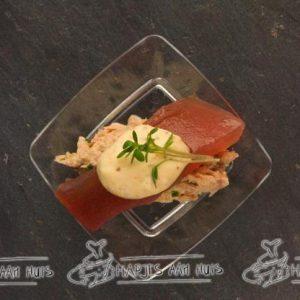 Tipje met rillette van tonijn