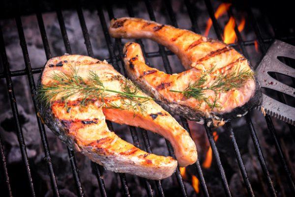 Vlees en vis BBQ
